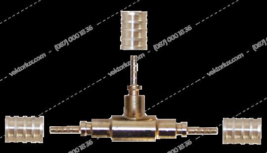 Трійник COLDFLEX-141 (3 підєднання до капілярної трубки)
