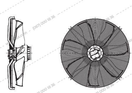 Вентилятор FE 035-4EK.0F.6