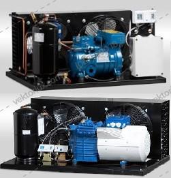 Агрегат холодильный AKBK2X-3.3 C Tropic