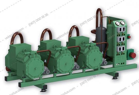 Агрегат холодильний AZ-BI-2x4DES-5Y/RV30