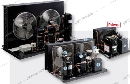 Агрегат холодильный CAJN 2446 ZBR
