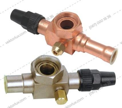 Вентилі типу Rotalock MTZ 22÷28 kpl.