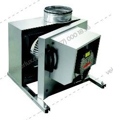 Вентилятор кухонний KF T120 B 355 EC NEW