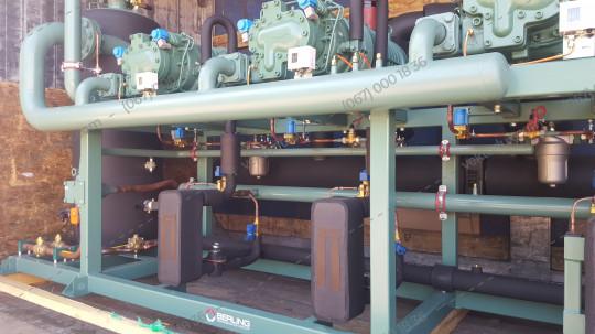 Агрегат холодильний AZ-BK-3xHSN 7461-70 з ECO