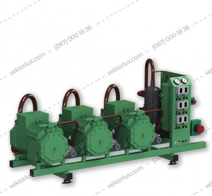 Агрегат холодильний AZ-BK-2X6GE-34Y