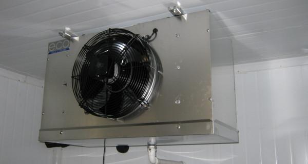 Холодильна камера для м'яса та м'ясопродуктів