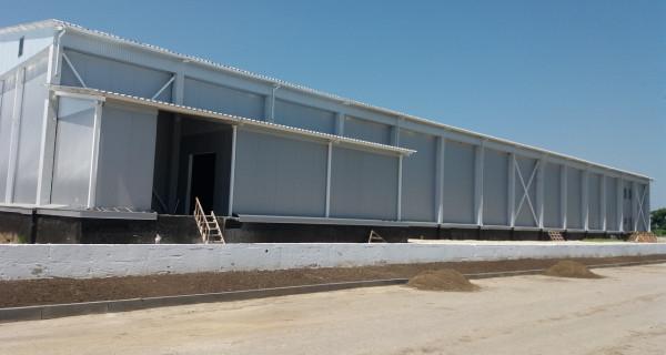 Холодильне обладнання для заводу з переробки плодово-ягідної продукції